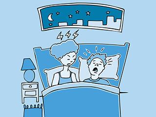 睡眠時無呼吸症の可能性をチェック